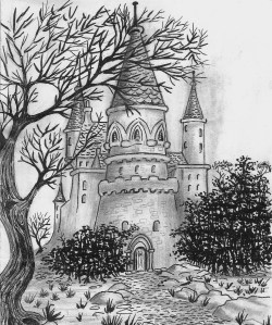 Red_Snow_Castle_Kroestov_Illlustration