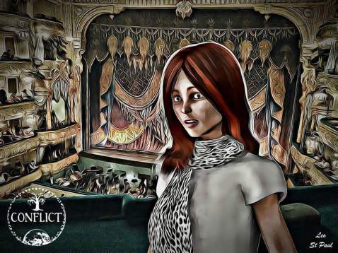 Alessa in the Theater
